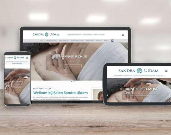 Nieuwe website www.sandrauidam.nl